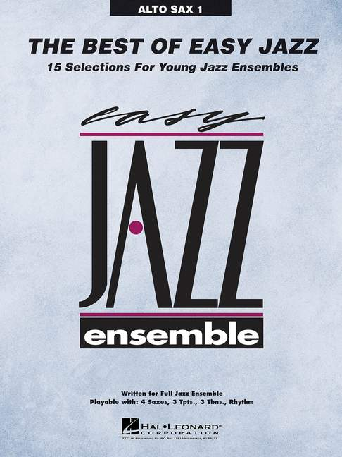 The-Best-Of-Easy-Jazz-Various-alto-saxophone-I-separate-part-big-band